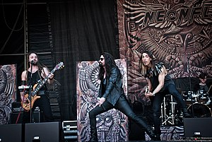 Neonfly at Metalfest in Pilsen, Czech Republic -. 2017.jpg