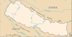 وادئ کاٹھمنڈو is located in Nepal