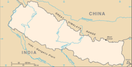 कंचनजंघा is located in नेपाल