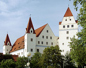 The New Castle in Ingolstadt