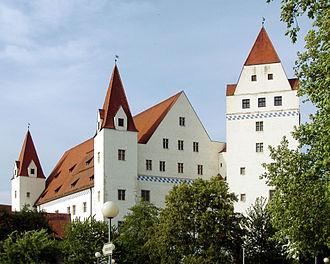 Louis VII, Duke of Bavaria - New Castle of Ingolstadt