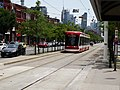New Flexity LR vehicles approach Spadina and College, 2016 07 21 (3).JPG - panoramio.jpg
