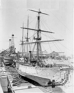 USS Newport (PG-12) - USS Newport
