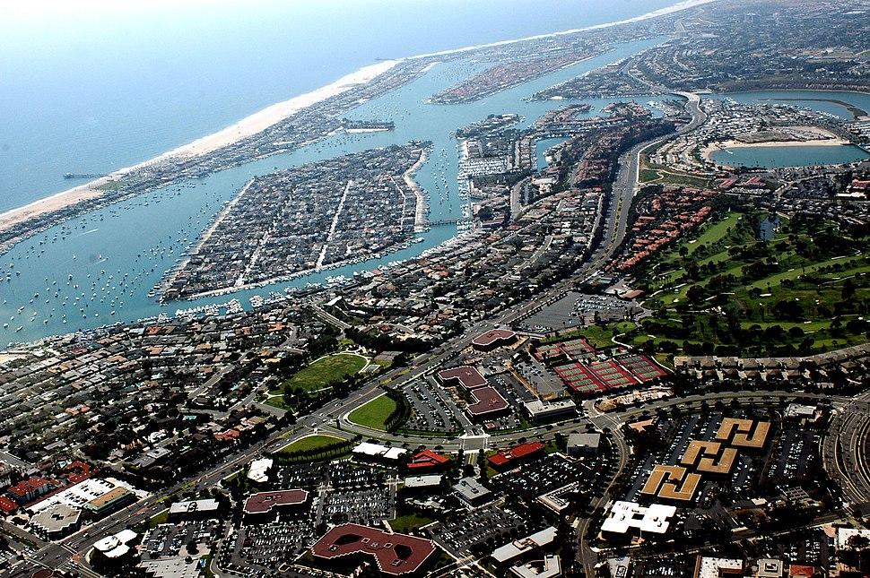 Newport Beach Aerial photo 001 by Don Ramey Logan