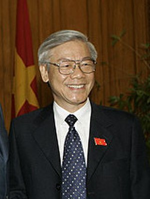 11th Politburo of the Communist Party of Vietnam - Image: Nguyen Phu Trong