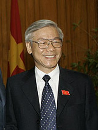 General Secretary of the Communist Party of Vietnam - Image: Nguyen Phu Trong