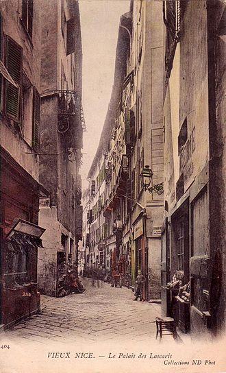 Palais Lascaris - Palais Lascaris. Postcard, c. 1910