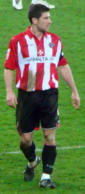 Nick Montgomery - Montgomery playing for Sheffield United in 2010