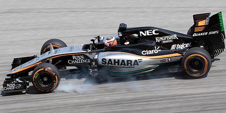 Nico Hulkenberg 2015 Malaysia FP2 2