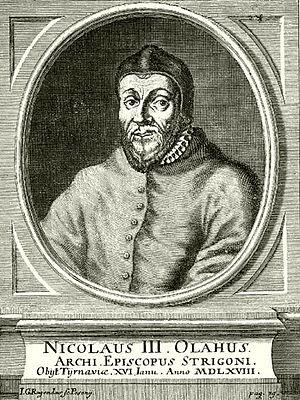 Nicolaus Olahus - Image: Nicolaus olahus