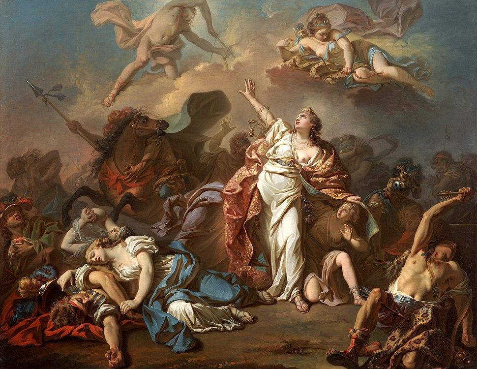 Niobe JacquesLouisDavid 1772 Dallas Museum of Art