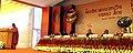 Nirmala Sitharaman addressing at the inauguration of the 34th India International Trade Fair (IITF-2014), at Pragati Maidan, in New Delhi. The President, Shri Pranab Mukherjee, the Lt. Governor of Delhi.jpg