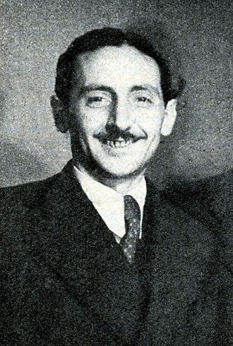Nicola Salerno - Nisa in Radiocorriere magazine, 1938