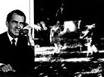 Nixon Telephones Armstrong on the Moon (9460942988).jpg