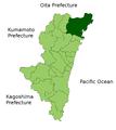 Nobeoka in Miyazaki Prefecture.png