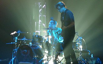 The Offspring - Pete Parada and Noodles performing in 2009