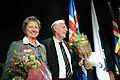 Nordiska radets nyvalda president och vicepresident Henrik Dam Kristensen och Marion Pedersen. Nordiska radets session 2010 (1).jpg