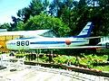 North American F-86F Sabre (02-7962) at Kawaguchiko Motor Museum, Yamanashi prefecture, Japan.jpg