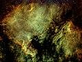 North American and Pelican Nebulas in Narrowband.jpg