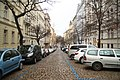 North view of Anny Letenské street in Vinohrady, Prague.jpg