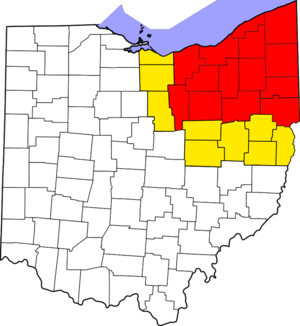 Northeast Ohio - Image: Northeast Ohio