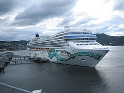 Die Norwegian Jade in Trondheim