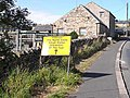 Notice in Lanehead - geograph.org.uk - 1506757.jpg