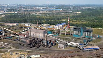 Novolipetsk Steel - Novolipetsk Steel plant