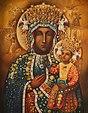 Nuestra Señora de Czestochowa recubierta de Orfebrería.jpg