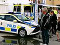 Ny minipolisbil i Visby hamn Almedalsveckan 2014 Visby.jpg