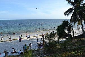 Nyali Beach from the Reef Hotel during high tide in Mombasa, Kenya 43.jpg