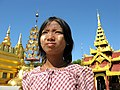 Nyaung-U, Bagan, Myanmar, Inner courts of Shwezigon Pagoda.jpg
