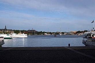 Nybroviken - Nybroviken from the northern quay.