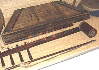 Sihu (instrument) string instrument from China and Mongolia