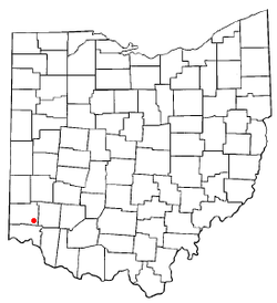 Location of Beckett Ridge, Ohio