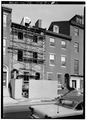 ORIGINAL FACADE BEING REBUILT - Rowley-Pullman House, 238 South Third Street, Philadelphia, Philadelphia County, PA HABS PA,51-PHILA,632-6.tif