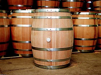 Barrel - Traditional oak barrels made by Chilean cooperage Tonelería Nacional