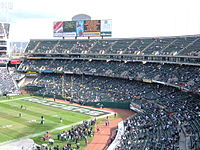 Oakland Coliseum south side from section 319.JPG
