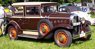 Oakland Six Car model