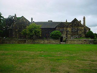 Oakwell Hall Grade I listed historic house museum in the United Kingdom