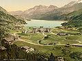Oberes Engadin Maloja und Silsersee um 1900-2.jpg
