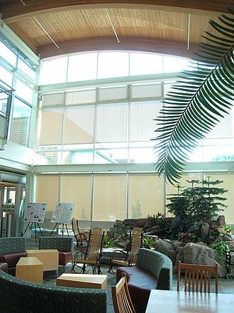 Adam Joseph Lewis Center for Environmental Studies - Interior view