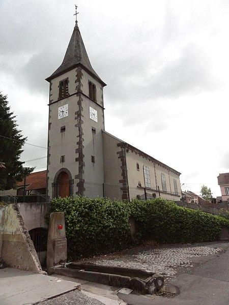 Oberstinzel (Moselle) église