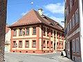 Oettingen, DON - Pfarrgasse Nr 10 kath Pfarrhaus v S.jpg