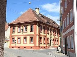 Oettingen, DON Pfarrgasse Nr 10 kath Pfarrhaus v S