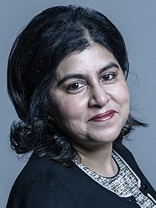 Official portrait of Baroness Warsi crop 2.jpg