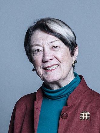 Diana Warwick, Baroness Warwick of Undercliffe - Official portrait, 2017