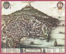P. Mortier, Catane ou Catania - Ville de Sicile, Amsterdam, dopo il 1575