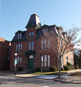 Old Courthouse (Buena Vista, Virginia) - Image: Old Courthouse Buena Vista VA Nov 11