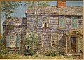 Old House, Easthampton, Long Island, by Frederick Childe Hassam, 1919, oil on canvas - New Britain Museum of American Art - DSC09002.JPG